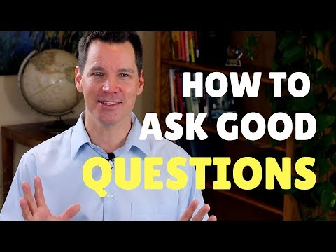 How to Ask Good Questions in Conversations
