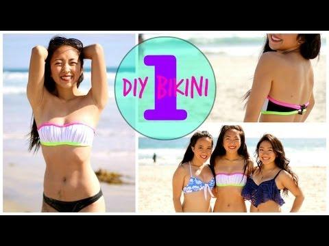 DIY Bikini Tops ♡ Part 1