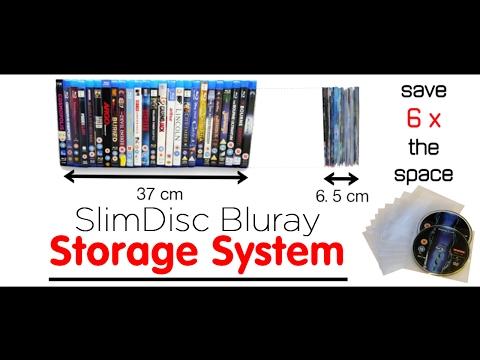 SlimDisc Bluray Storage System Demonstration