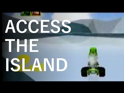 Mario Kart 64 - Access the Sherbet Island Glitch