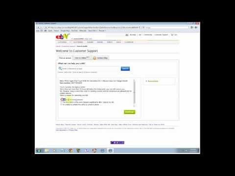How to Cancel a bid on ebay.