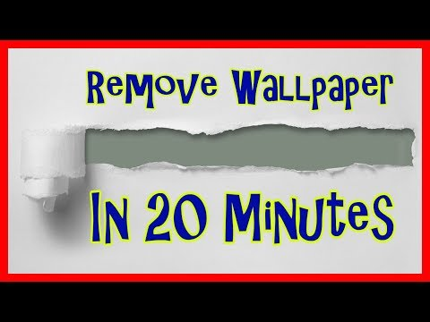 Remove Wallpaper And Painting Walls