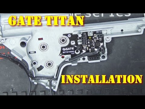 Technique - Installation drop-in MOSFET GATE Titan - gearbox V2 [ENG sub]