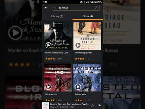 Issue with Audio Book Missing in Library and Buying Credits on Audible