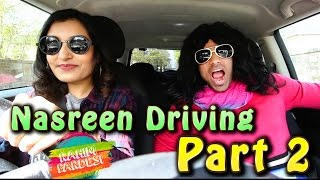 Nasreen Driving Part 2 | Rahim Pardesi