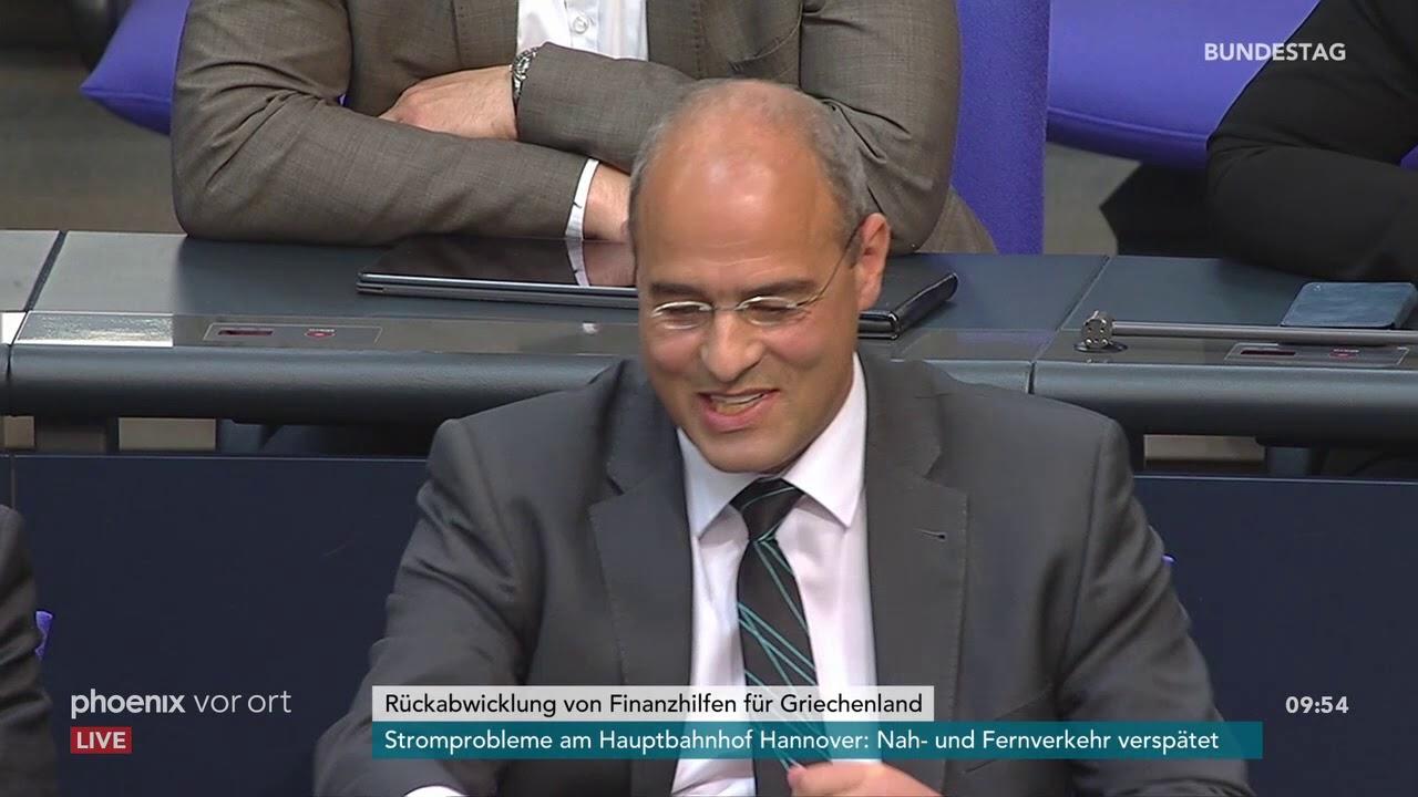 Bundestagsdebatte zur Rückabwicklung von Finanzhilfen für Griechenland am 10.05.19