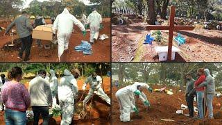 Entierros en cadena en el mayor cementerio de América Latina | AFP