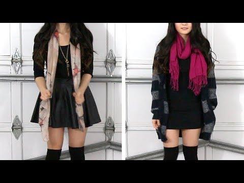 Lookbook | Styling a Little Black Dress LBD (Casual, formal, dressy, lazy) - Fashion | Eva Chung