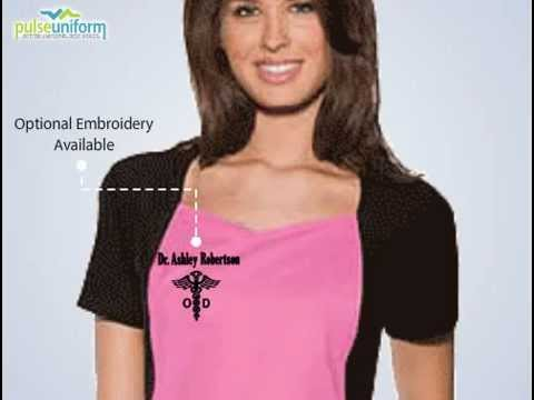 26843 Baby Phat Scrub Top - Cherokee Fashion  Women Nurse Scrubs