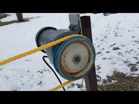Backyard Ski Lift (Rope Tow)
