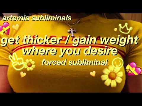 get thicker+gain weight in the places you desire🥑|| artemis subliminals