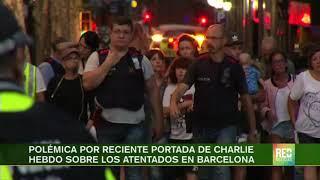 RED+ | Polémica por reciente portada de Charlie Hebdo sobre los atentados en Barcelona