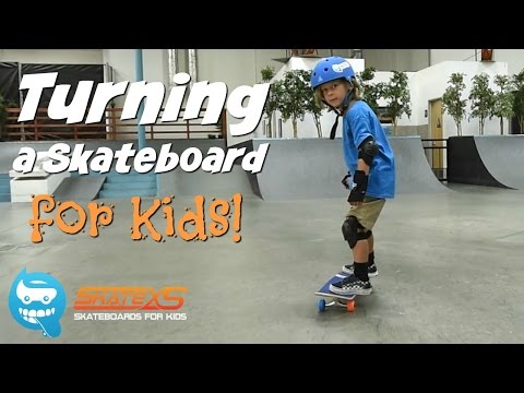 How to Turn your Skateboard for Kids