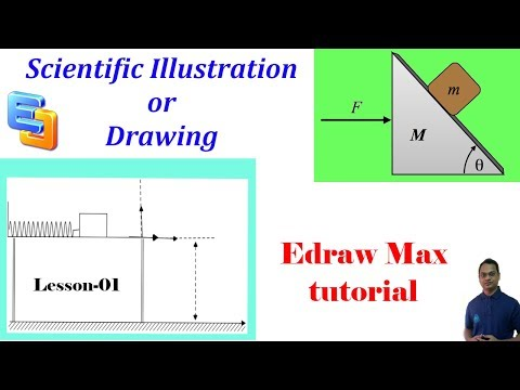 Scientific Illustration or Drawing Using Edraw Max | Lesson-01