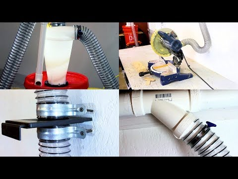 PVC Shop Dust Collection System