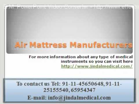 Air Mattress Manufacturers - Bubble Mattress Manufacturers