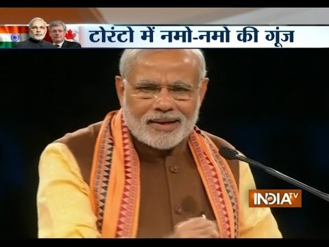 PM Modi's Canada Visit: The Merger of PIO and OCI Has Been Done as Promised - India TV