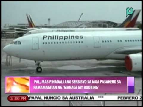 News@1:PAL, inilunsad ang 'manage my booking' system [02/20/15]