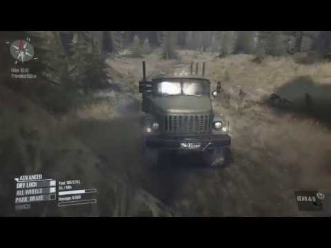 Spintires MudRunner 14318. Extreme graphics.