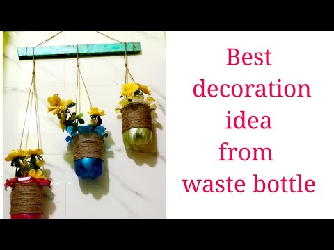 How to reuse plastic bottles | DIY | Best out of waste