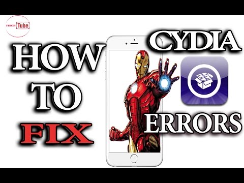 New HOW TO FIX CYDIA ERRORS ios 9.2,9.3.1,9.3.2,9.3.3
