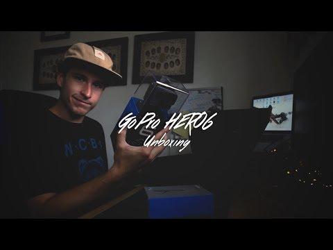 GoPro HERO 6 Black Unboxing and Setup