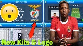 Create juventus team kits and logo for dream league soccer