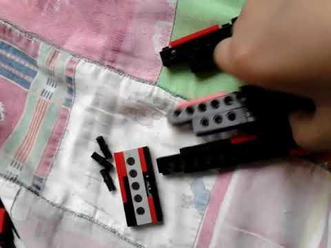 Lego Balisong Knife EASY Tutorial