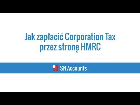 Jak zapłacić Corporation Tax przez nową stronę HMRC - SN Accounts - Księgowy w Birmingham