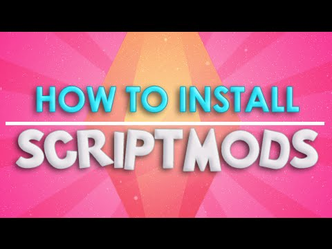 The Sims 4 | How To | Install Script Mods.