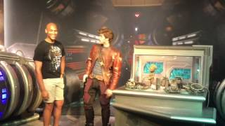 Guardians of the Galaxy Star Lord & Baby Groot Meet & Greet Opens at Walt Disney World