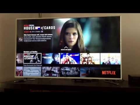 Netflix Deutschland - Review und Test auf dem Samsung Smart TV (Deutsch)