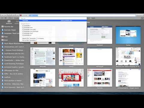 Youtube add to Safari Bookmark Bar