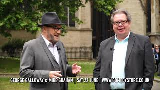 Mike Graham & George Galloway at Westminster: when the CIA knocks on your door