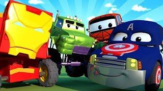 A Super Patrulha - Especial Vingadores - Os Vingadores salvam o Jeremy - Cidade da Carro 🚓 🚒