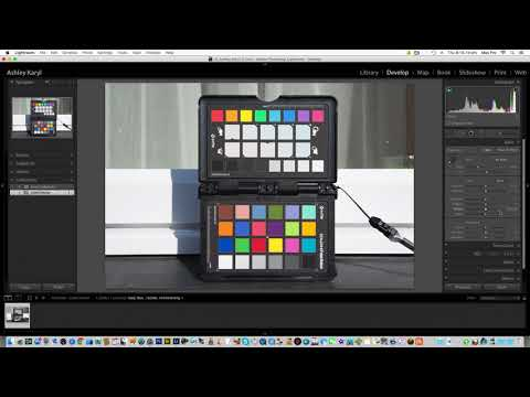 How to create a custom profile for Lightroom with the X-Rite ColorChecker Passport