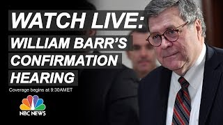 Download Watch Live: AG Nominee William Barr Testifies At Senate Confirmation Hearing | NBC News Video
