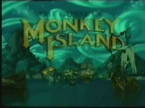 The Curse of Monkey Island - Game Trailer (1996)