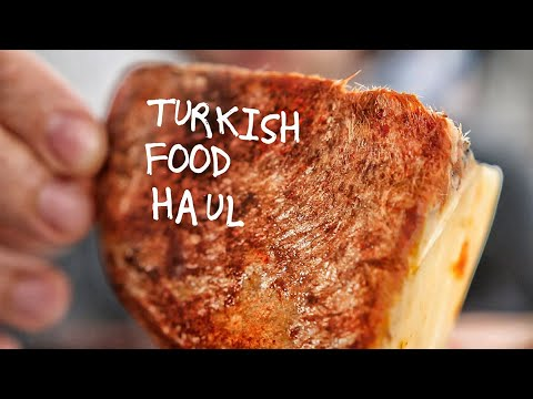 I Try Turkish Cheese Ripened in Goat Skin...
