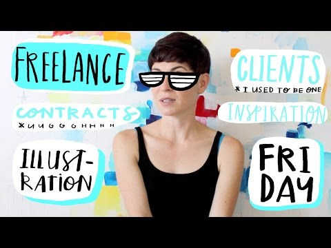 VLOG | Day in the Life of an Illustrator | Welcome to Freelance Illustration Friday!