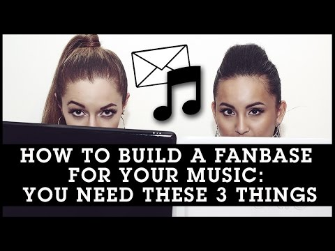 How To Build A Fanbase For Your Music: You Need These 3 Things