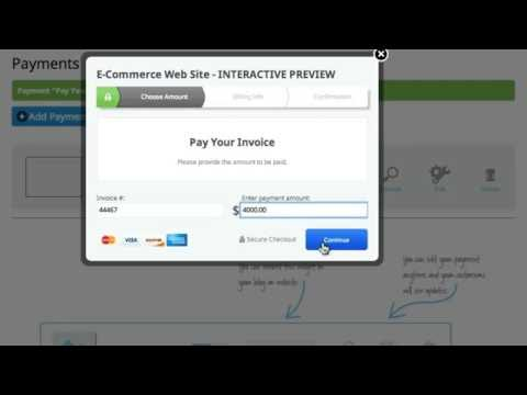 Accept Payments Online with Web.com's Take-a-Payment Solution for eCommerce