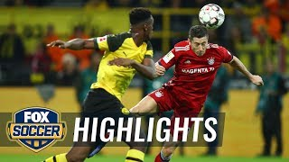 Robert Lewandowski puts Bayern Munich up 1-0 vs. Borussia Dortmund | 2018-19 Bundesliga Highlights