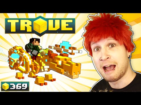 SUPER RARE GOLDEN DRAGON ALBERT GET! ✪ Scythe Plays Trove #369