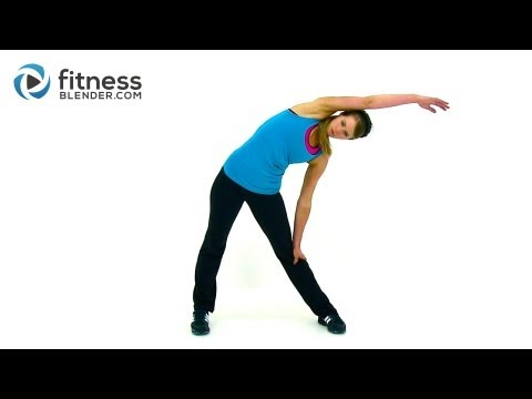 Kelli's Quick Cool Down and Stretch - Feel Good Stretching Routine for Morning or Night