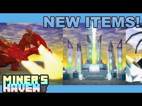 Miner's Haven EVOLVED REBORN Reveal - Roblox