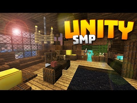 Minecraft Realms! - Unity SMP S2 Ep. 11 - REDESIGNING THE MAP ROOM & MINECON EARTH NEWS!!