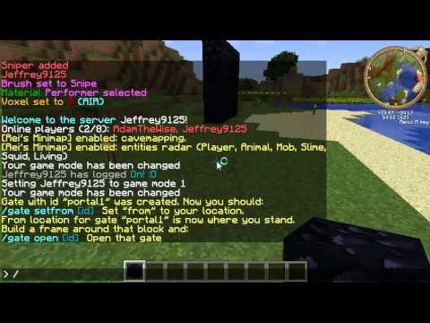 Ancient Gates Plugin Minecraft Server Tutorial