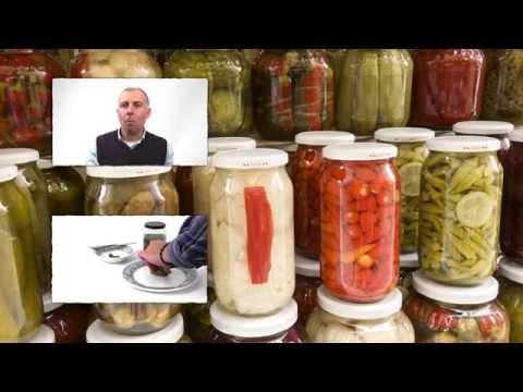Pickled gherkin crunchiness test
