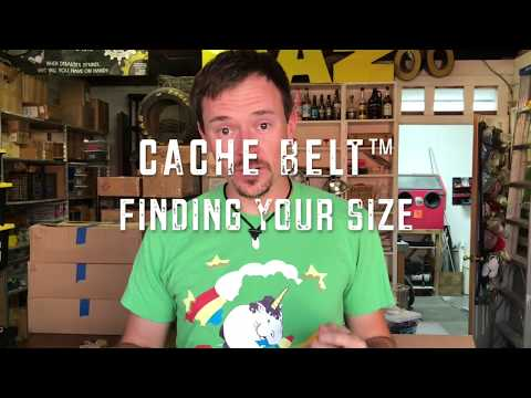 How To Accurately Measure Sizes For Your Belt  | Cache Belt™
